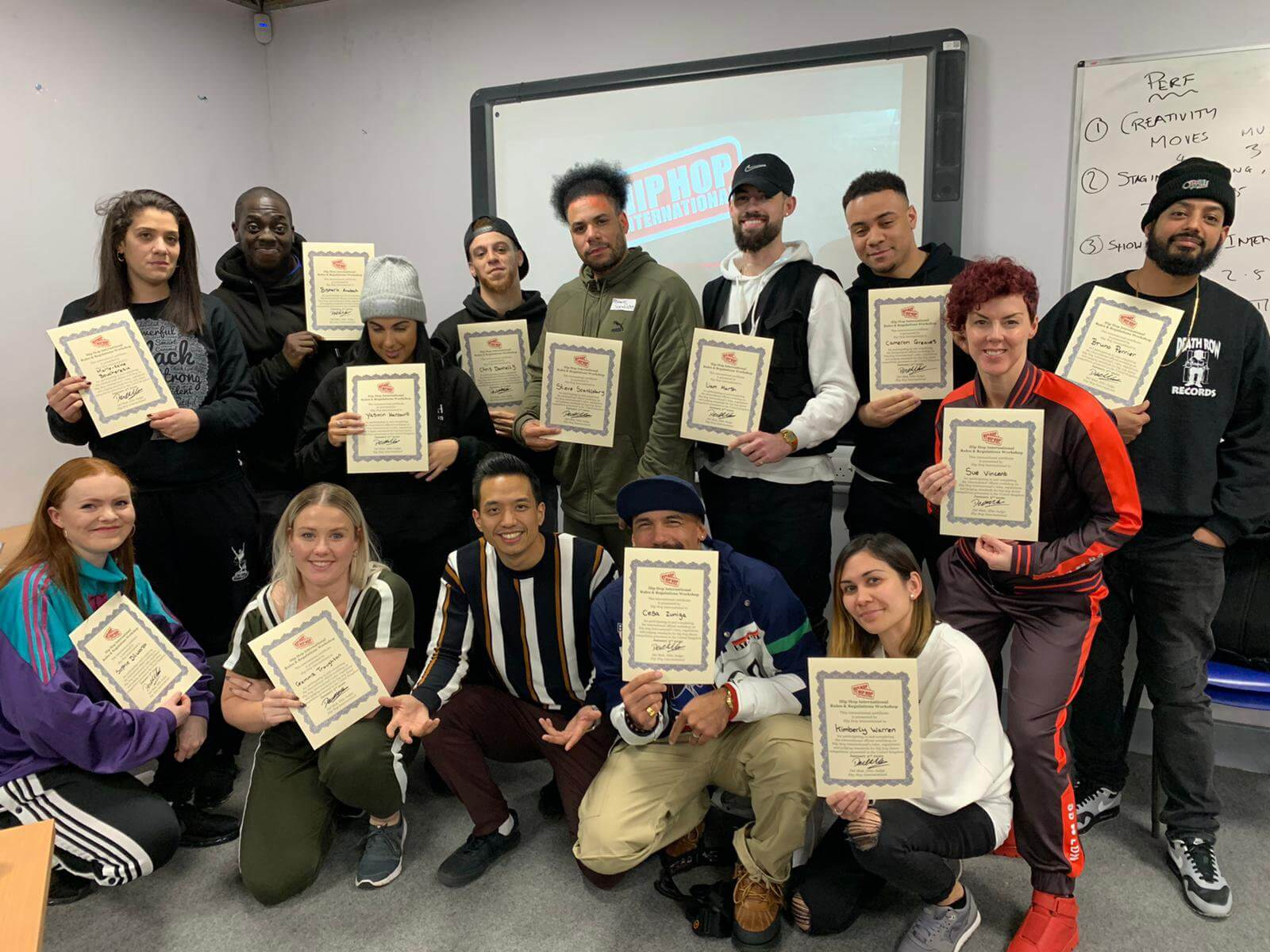 First Group of HHI Rules and Regulations Course Graduates