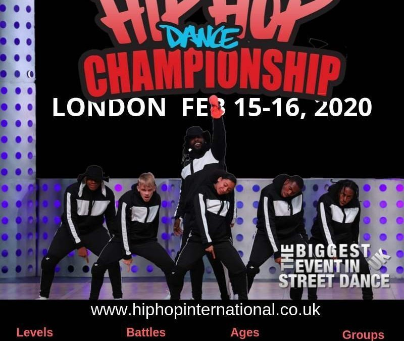 Announcing the UK Hip Hop Dance Championship 2020 - LONDON!
