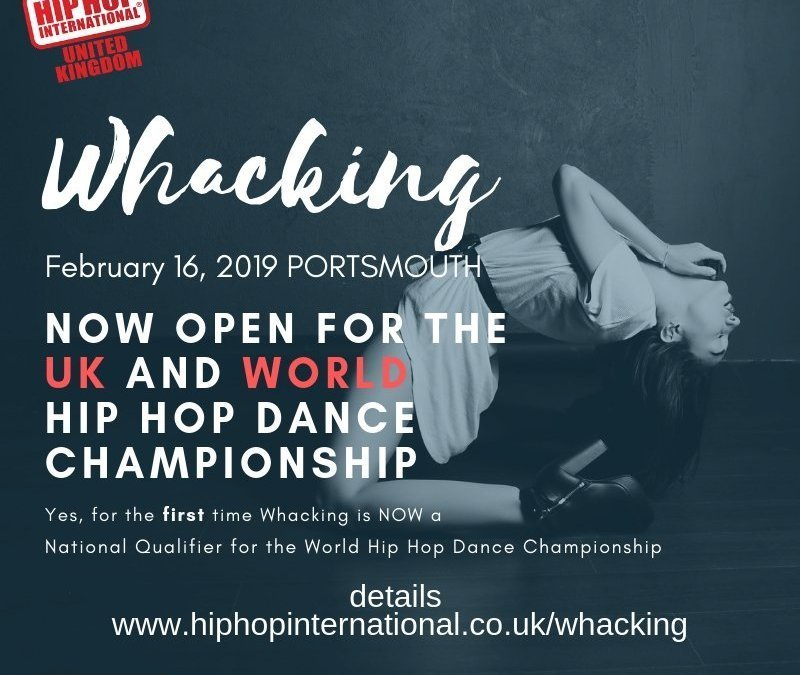 Whacking Comes the World Hip Hop Dance Championship